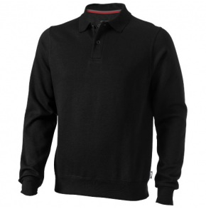 Referee Polo Sweat, Black, XL
